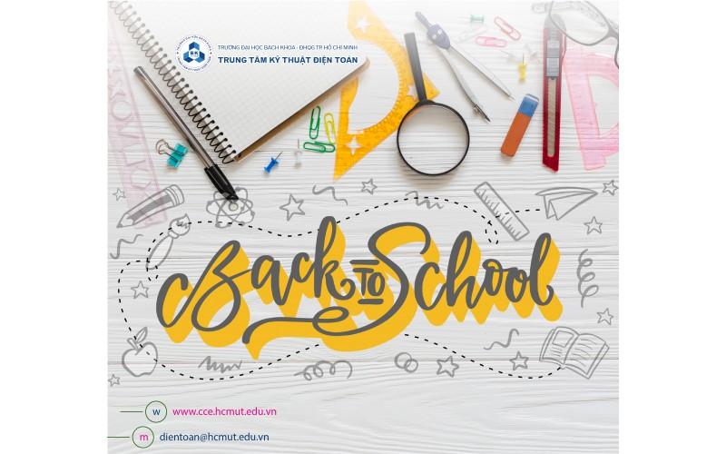 Back to school - Luôn vui như ngày mới