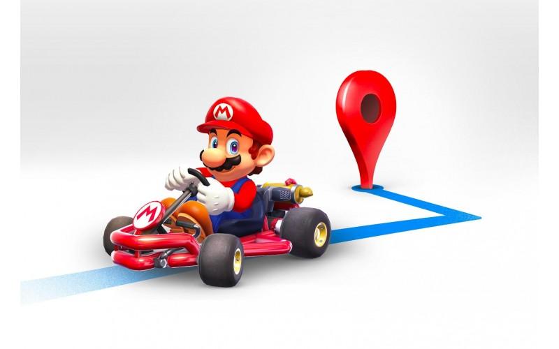 Mario trở thành người dẫn đường trên Google Maps