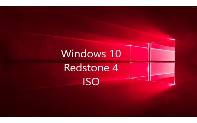 Windows 10 Redstone 4 sắp có bản RTM và ISO trước thềm ra mắt chính thức